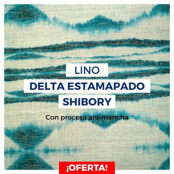 DELTA estampado SHIBORY con proceso antimancha